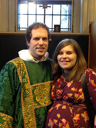 Fr Sam and Gretchen Keyes