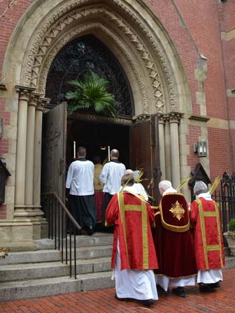 Sacred Ministers reentering church