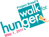 Walk for Hunger 2010 logo